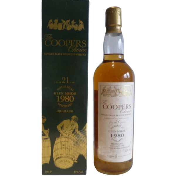 Glen Mhor 21 Year Old by Coopers Choice