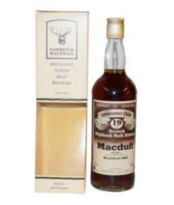 Macduff 19 Year Old, 1963 Connoisseurs Choice