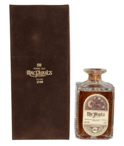 Macphail's 1940 50 Year Old Book Of Kells Decanter