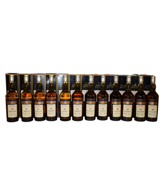 Rare Malts Selection (12 Bottles)