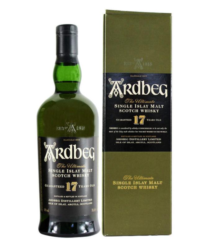 Ardbeg 17 Year Old, Official Bottle