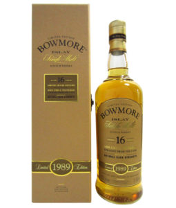 Bowmore 16 Year Old, 1989
