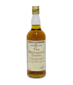 Cragganmore 17 Year Old Manager's Dram