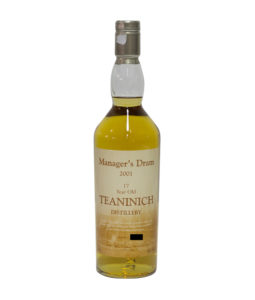 Teaninich 17 Year Old Manager`s Dram
